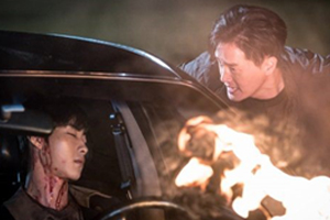 \'Mad Dog\' Kangwoo finds Minjun in flames, covered with blood! [Mad Dog]