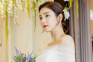 Shin Sae Kyeong looks gorgeous in a wedding dress! [Black Knight]