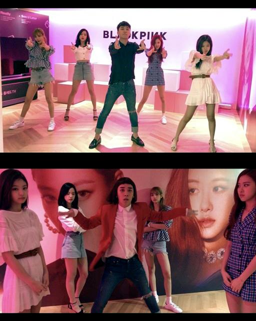 BIGBANG Seungri\'s funny dance cover of BLACKPINK\'s \'DDU DU DDU DU\'