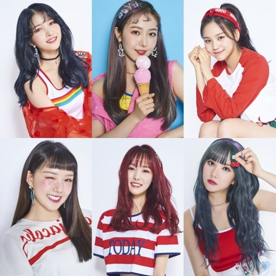 GFRIEND will be releasing their summer mini-album \\\\\\\'Sunny Summer\\\\\\\' on July 19 at 6 p.m