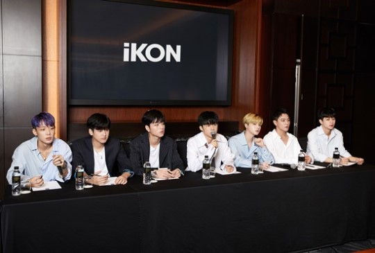On August 2, iKON held an interview to talk about their new mini-album \\\'NEW KINDS : CONTINUE\\\'.