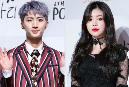Recently, a photo of (G)I-DLE\'s Soojin and PENTAGON\'s Hui on a shopping date spread