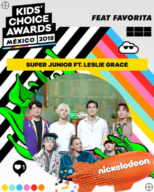 On August 21, Super Junior won the \\\'Feat Favorita\\\' award for \\\'Lo Siento (Feat. Leslie Grace)\\\', the title track of their 8th repackage album \\\'REPLAY.\\\'