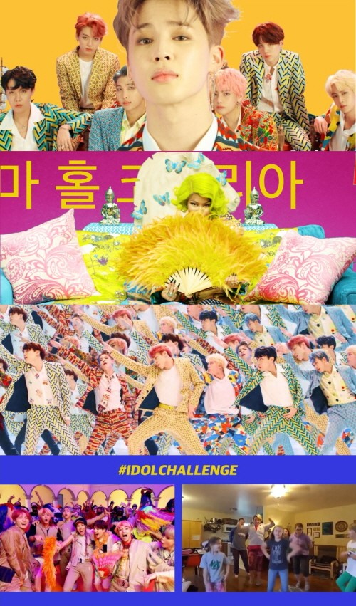 On September 7, the music video of \'IDOL (Feat. Nicki Minaj)\' was revealed on YouTube. \'IDOL (Feat. Nicki Minaj)' is a special digital track that was not included in BTS\' recent album.