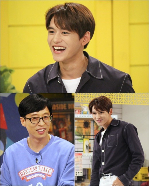 Tonight\'s episode of \'Happy Together\' will feature guests Im Chang Jung, Seo Yoojung, Park Eunhye, WJSN\'s Bona, and NCT\'s Lucas.   From the beginning, NCT\'s Lucas captures everyone\'s attention with his dazzling looks.   When asked if he is the