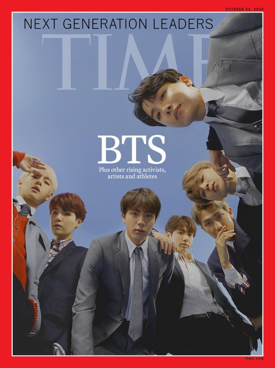 The title of the article on BTS is \\\'How BTS Is Taking Over the World.\\\'