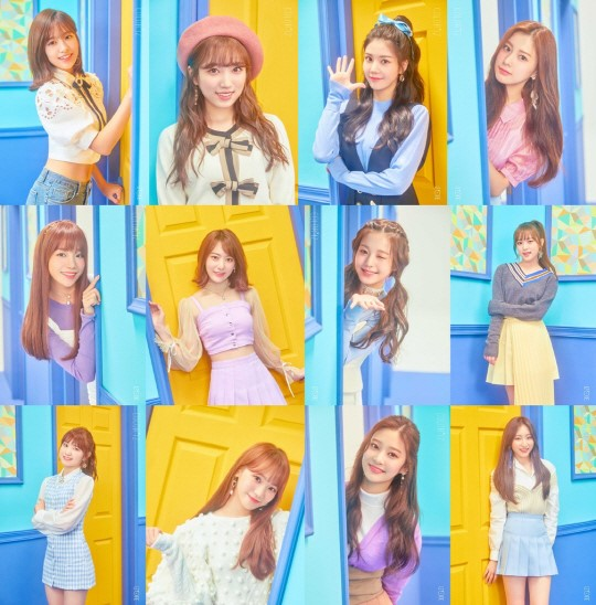 On October 15, Off The Record Entertainment announced that IZ*ONE will release its first mini-album \'COLOR*IZ\' on October 29.