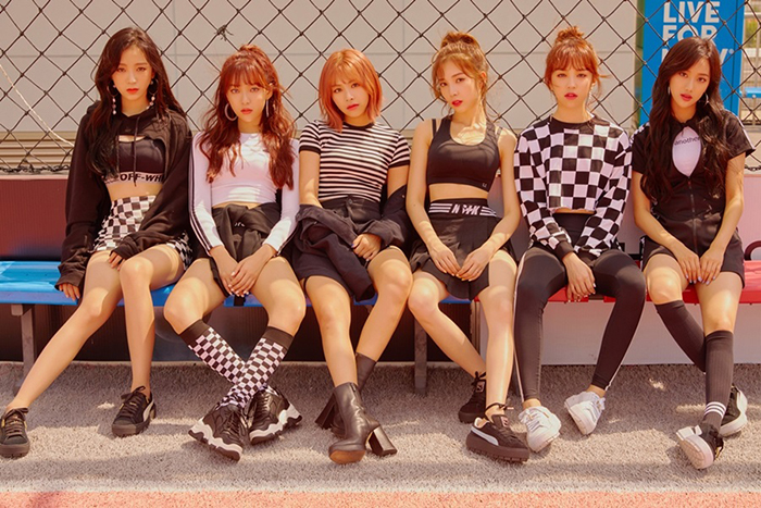 April will release their 6th mini-album \\\'the Ruby\\\' today as well as the music video of the title track \\\'Oh! my mistake.\\\'