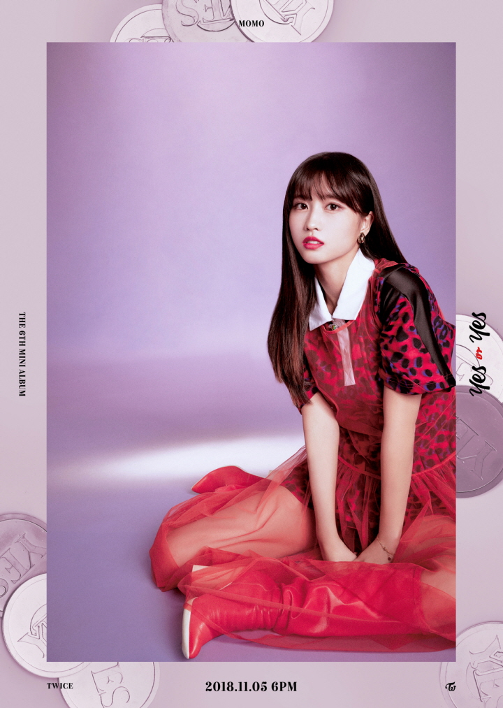 TWICE revealed the individual teaser images for the upcoming mini album \\\'YES or YES\\\'.