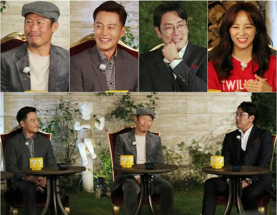 of just-released movie \\\'Intimate Strangers\\\', Yoo Hai Jin, Lee Seo Jin and Cho Jinwoong join today\\\'s special MC Sejeong from gugudan.