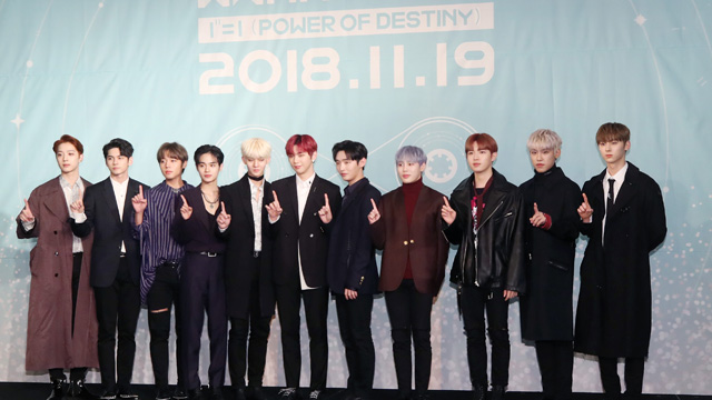 Wanna One, facing their imminent disbandment, released their first and last full-length album \'1¹¹=1(POWER OF DESTINY)\' on November 19.