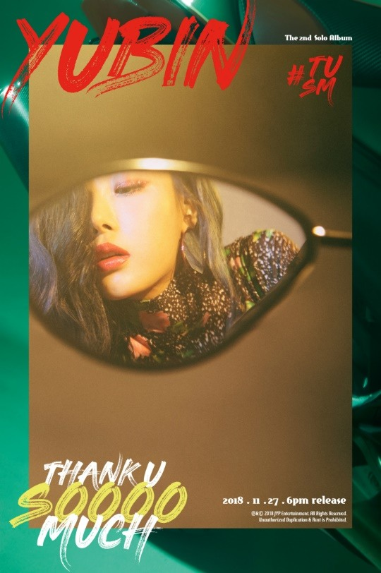 While Yubin is coming back with her second solo album \\\'#TUSM\\\' on November 27, she revealed 2 new teaser images that show the album\\\'s concept.