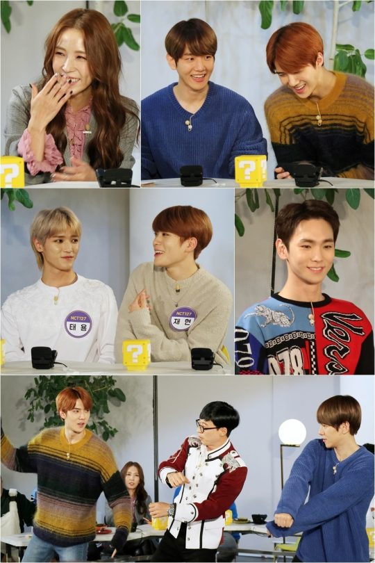 Tonight\\\'s episode of \\\'Happy Together 4\\\' features the SM Entertainment special. While comedian Lee Su-Geun is the special MC, the guests are BoA, SHINee\\\'s Key, EXO\\\'s Baekhyun and Sehun, and NCT\\\'s Taeyong and Jaehyun.