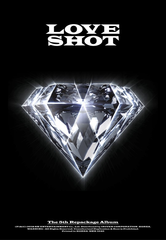 EXO will launch the repackaged version of their 5th full-length album \'LOVE SHOT\' on December 13.