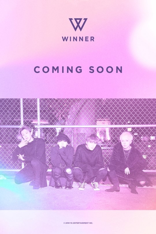 On December 11, YG Entertainment revealed the poster announcing WINNER\'s comeback.