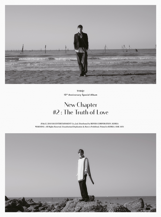 TVXQ! will release special album \\\'New Chapter #2: The Truth of Love' on December 26, which is their 15th anniversary of debut.