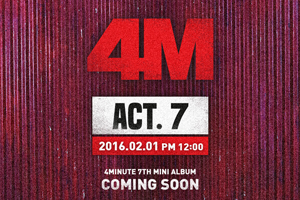 4MINUTE to return with