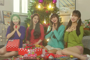 HAHA celebrates Christmas with OH MY GIRL this year!