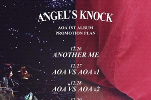AOA comes back with \'ANGEL\'S KNOCK\' on JAN 2!