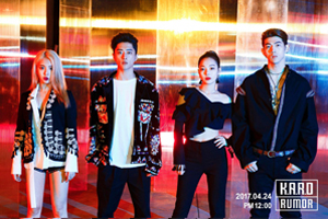KARD releases their 3rd project \'Rumor\' today!