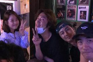 Kwangsoo, Park Boyoung, Jo Insung are best friends!
