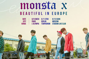 MONSTA X to have first Europe tour!