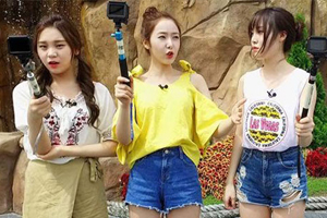 \'Battle\' GFRIEND enjoys the longest water-coaster ride in Korea! [Battle Trip]
