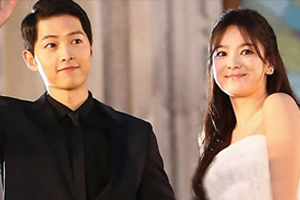 Song Joongki ♥ Song Hye Kyo went to San Francisco for their wedding photo shoot.