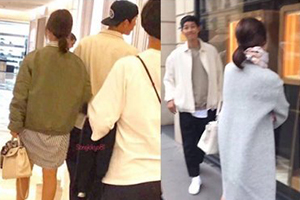 Fans sighted the Song-Song couple openly dating in Paris.