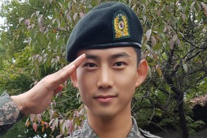 Taecyeon became military training assistant instructor!