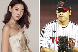 Model Han Hyejin revealed to have broken up with baseball player Cha Woo Chan.