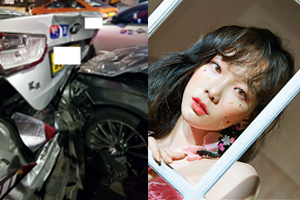 Taeyeon involved in rear-end collision due to careless driving
