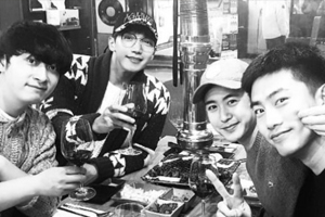 2PM reunited on New Year\'s during Taecyeon\'s vacation