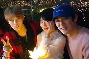 Kim Jae Joong, Jang Keun Suk, Yoo Yeon Seok & more stars @ BIGBANG Concert