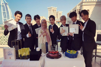 Follow KBS World to Dubai with EXO