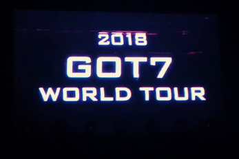 GOT7 WORLD TOUR 2018