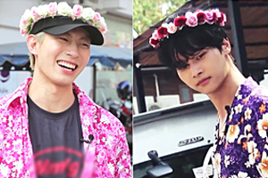 VIXX N & Hongbin become the fashion kings of Songkran Festival in Thailand! [Battle Trip]