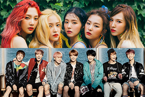 Teenagers pick BTS as ideal student teacher type & Red Velvet as ideal transfer student type!