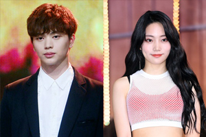 BTOB\'s Yook Sungjae denies that he\'s dating DIA\'s Jooeun himself on V-LIVE