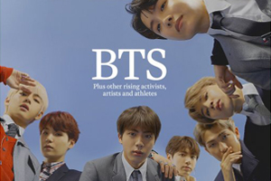 BTS appears on the cover of TIME magazine as the \'Next Generation Leaders\'