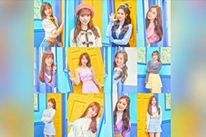IZ *ONE to debut on October 29 with \'COLOR*IZ\'