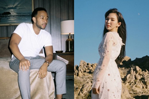 Red Velvet\'s Wendy collaborates with John Legend!
