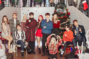 Starship Ent. to release Christmas song feat. MONSTA X, WJSN, Boyfriend, Soyou and more!