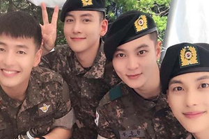 9 Celebrities who are returning from the military in 2019