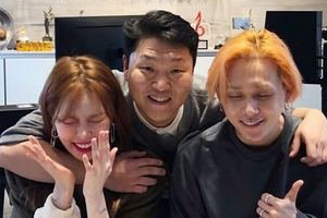 Hyuna & E\'Dawn sign with PSY\'s label P NATION