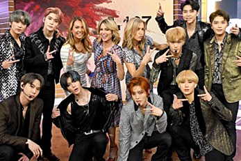 NCT 127 premieres \'Superhuman\' on \'Good Morning America\'