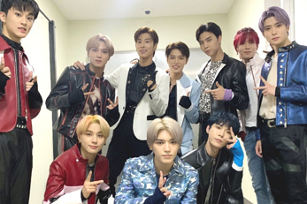 U-KNOW and NCT 127 in One Same Photo [Music Bank]