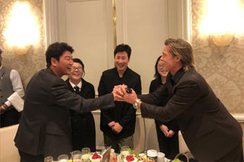 Brad Pitt meets Song KangHo