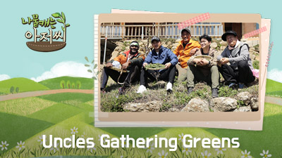 Uncles Gathering Greens