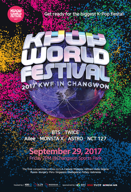 kpop world festival 2016 fwf in changwon